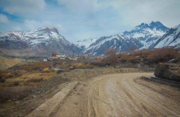 Jharkot village on the way to Muktinath