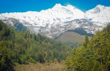 Tukuche mountain range 6920m