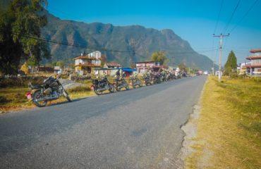 heading towards Mustang from Pokhara